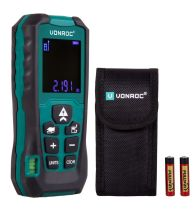 Laser distance meter 60m | Length - volume - area - height - distance