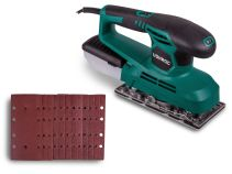 Orbital sander 240W | Incl. dust collection box and 12 sanding papers