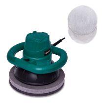 Eccentric polishing machine 120W – 240mm | Incl. 2 polishing bonnets