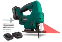 Jig saw 20V - 2.0Ah | Incl. battery and 5 saw blades (Made in Germany)