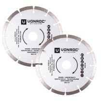 Diamond cutting discs 150mm - 2 pcs | Universal