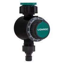 VONROC Watertimer – Mechanisch – Instelbare tijd 0 - 120 minuten