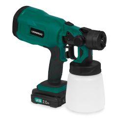 Cordless spray gun 20V - 2.0Ah | Incl. battery and quick charger
